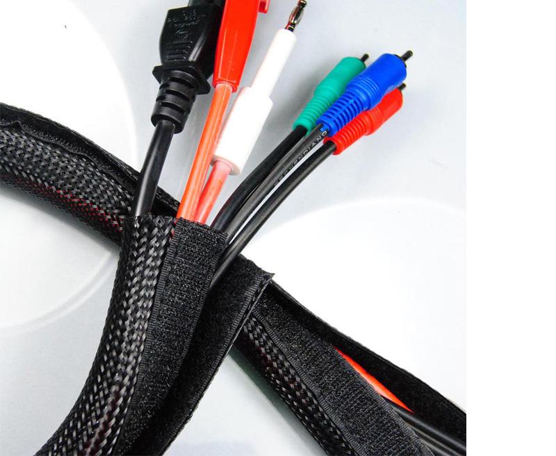Hook and Loop Braided Wrap