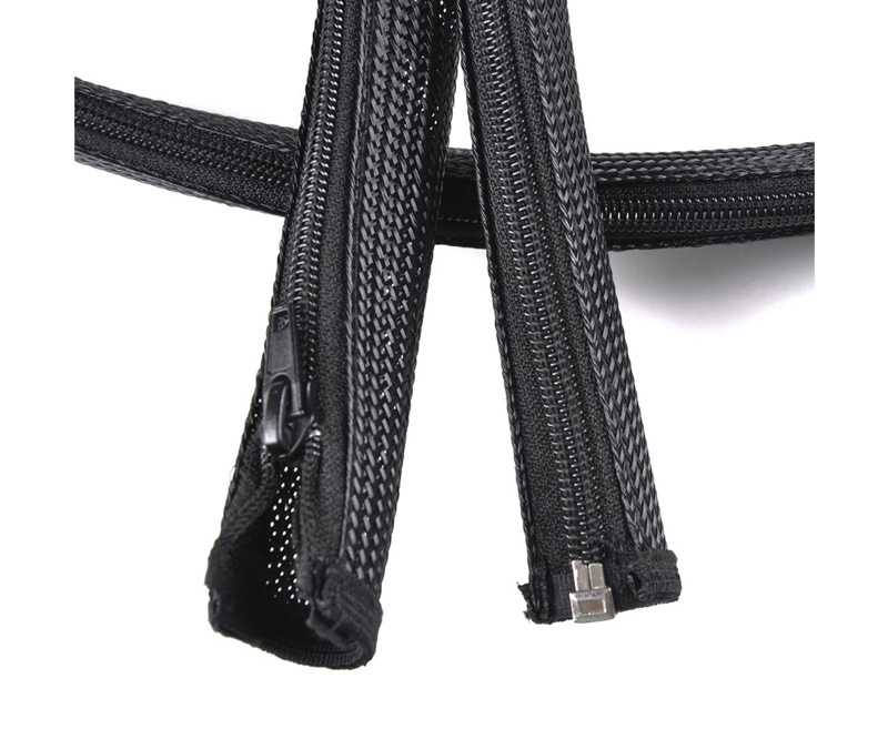 Zipper Braided Wrap