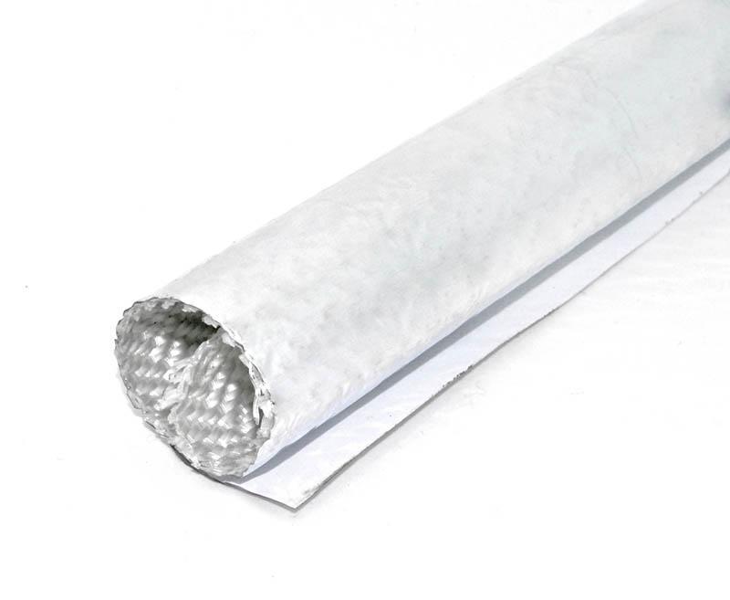 Aluminum fiberglass self-closing wrap